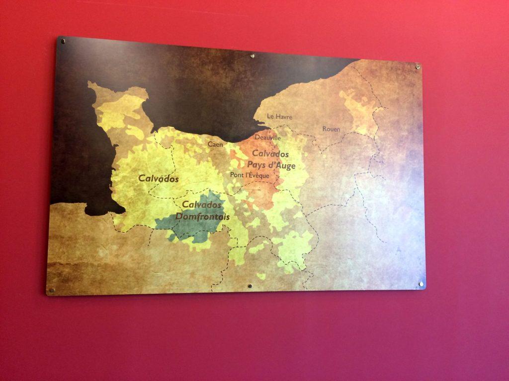 Regióny v Calvadose