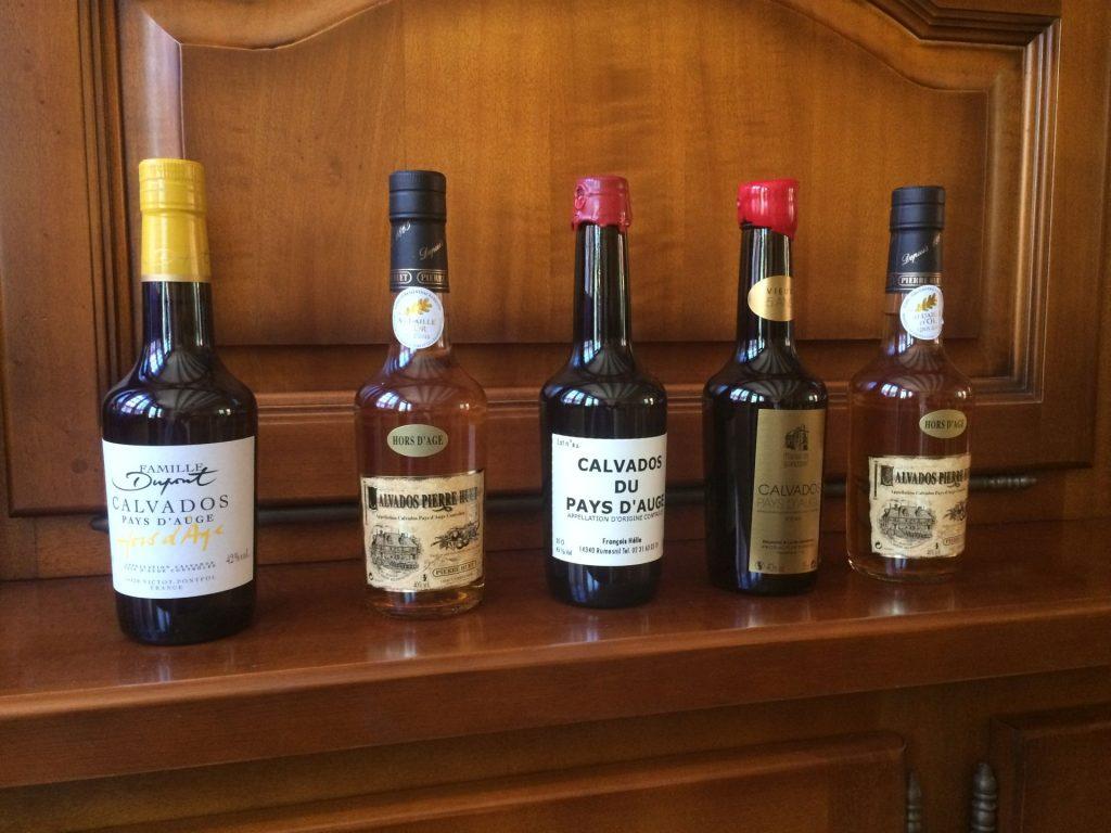 Calvados vzorky
