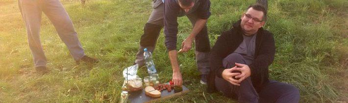 Občerstvenie v sade